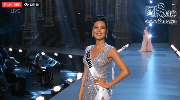 HHen Niê trình diễn bikini gợi cảm, tung váy dạ hội xuất quỷ nhập thần đêm bán kết Miss Universe 2018-8