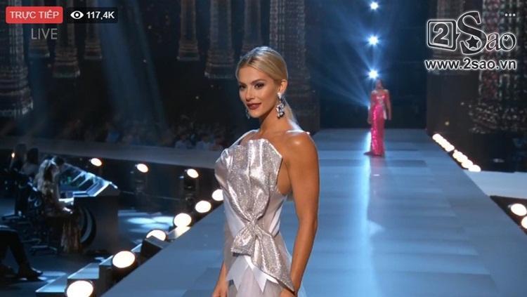 HHen Niê trình diễn bikini gợi cảm, tung váy dạ hội xuất quỷ nhập thần đêm bán kết Miss Universe 2018-9