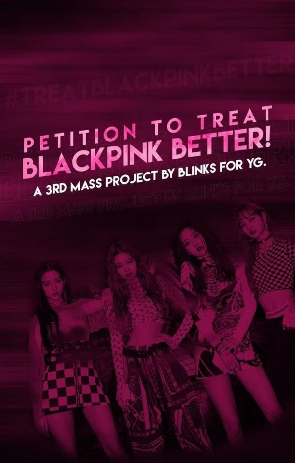 Tức nước vỡ bờ, fan Black Pink ký tên yêu cầu YG đối xử với nhóm tử tế hơn nếu không muốn đối mặt với cuộc tẩy chay quy mô lớn-3