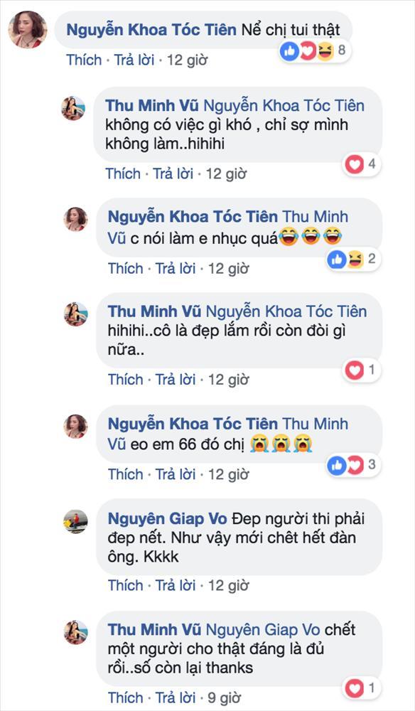 Thu Minh khoe vòng eo chấp hết các thể loại 56 nhưng phản ứng của Tóc Tiên và Lưu Thiên Hương khiến ai cũng cười bò-3