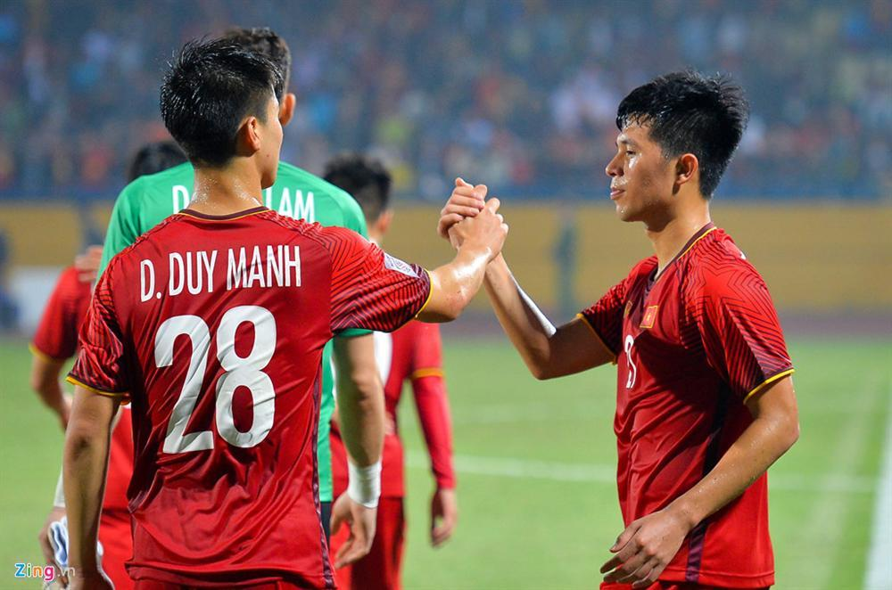 Duy Mạnh - Đình Trọng - Ngọc Hải và lá chắn thép của tuyển Việt Nam-3