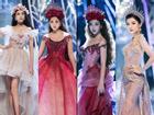 Trở về từ Miss World, Tiểu Vy catwalk cùng Hương Giang, Đỗ Mỹ Linh, Lan Khuê mà không hề bị lép vế