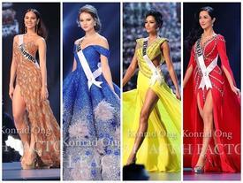 Top 10 trang phục dạ hội đẹp xuất sắc đêm bán kết Miss Universe 2018