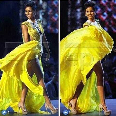 Hoa hậu khắp nơi trên thế giới shock nặng vì pha tung váy tuyệt phẩm của HHen Niê tại Miss Universe 2018-4