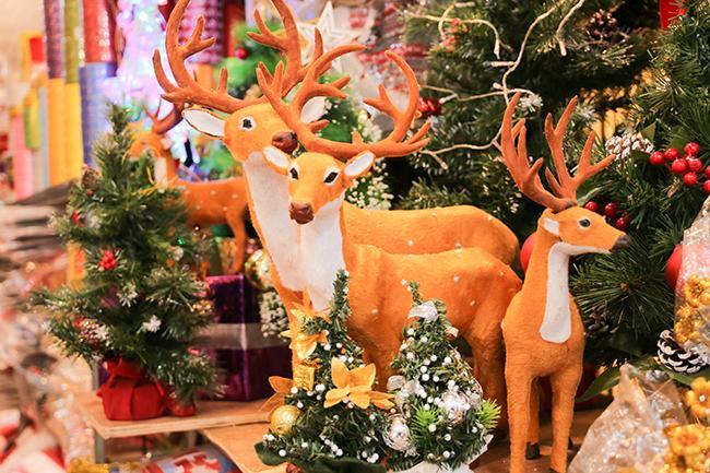 Ảnh: Phố Hàng Mã rực rỡ sắc màu mùa Noel xua tan lạnh giá-14