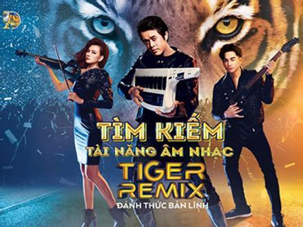 Cơ hội trình diễn với ca sĩ hàng đầu tại Tiger Remix 2019