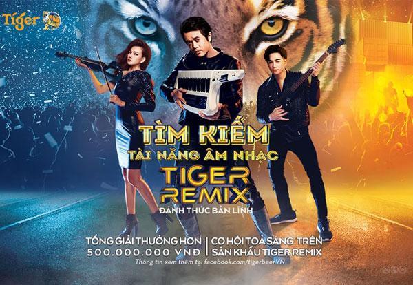 Cơ hội trình diễn với ca sĩ hàng đầu tại Tiger Remix 2019-1