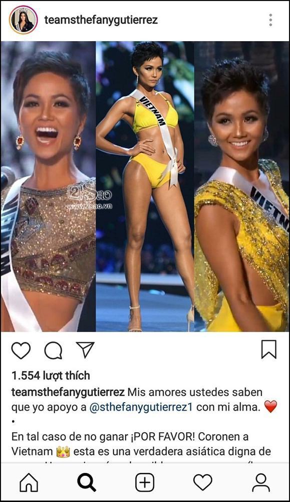 Khán giả Venezuela tuyên bố: Nếu chúng tôi không đoạt vương miện, mong Hoa hậu sẽ thuộc về HHen Niê-3