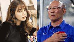 Dù phim bị hoãn chiếu vì tuyển Việt Nam, mỹ nhân xứ Hàn vẫn gửi lời chúc đến HLV Park Hang Seo
