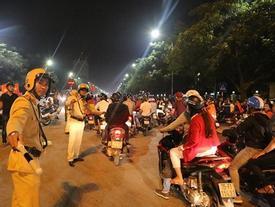 Người hâm mộ cổ vũ U23 Việt Nam cần đi những đường nào để tránh ùn tắc?