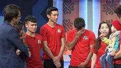 Quang Hải rưng rưng, Đức Chinh liên tục lau nước mắt trong chương trình 'Điều ước thứ 7'