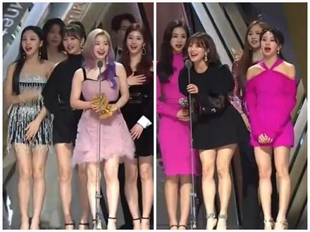 Nhận giải 'Bài hát của năm' tại MAMA 2018, Twice bị chê là trò cười