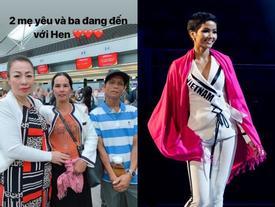 Bố mẹ H'Hen Niê từ Đắk Lắk tới Thái Lan cổ vũ con thi Hoa hậu Hoàn vũ