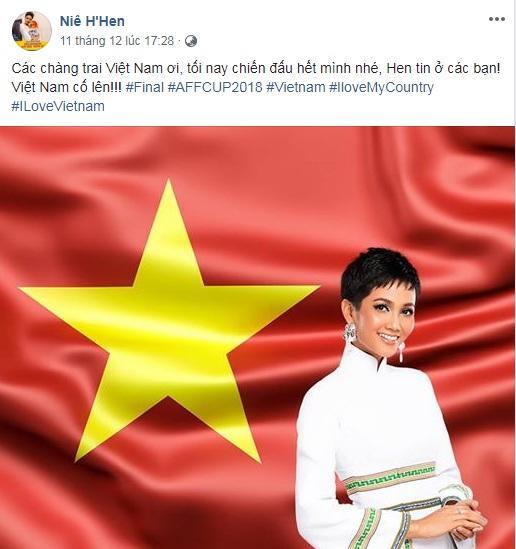 Đang bận tổng duyệt Miss Universe, HHen Niê vẫn rủ hoa hậu Mỹ mặc áo cờ đỏ sao vàng cổ vũ tuyển Việt Nam-7