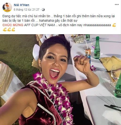 Đang bận tổng duyệt Miss Universe, HHen Niê vẫn rủ hoa hậu Mỹ mặc áo cờ đỏ sao vàng cổ vũ tuyển Việt Nam-6
