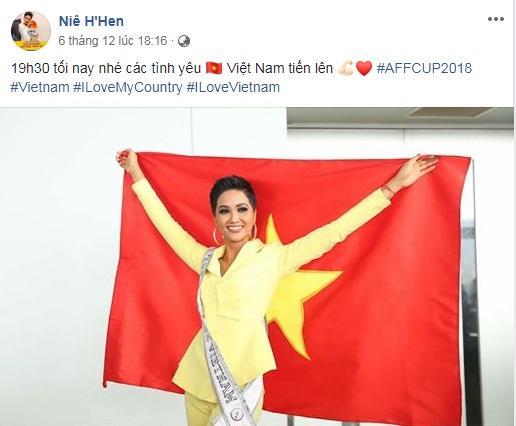 Đang bận tổng duyệt Miss Universe, HHen Niê vẫn rủ hoa hậu Mỹ mặc áo cờ đỏ sao vàng cổ vũ tuyển Việt Nam-5