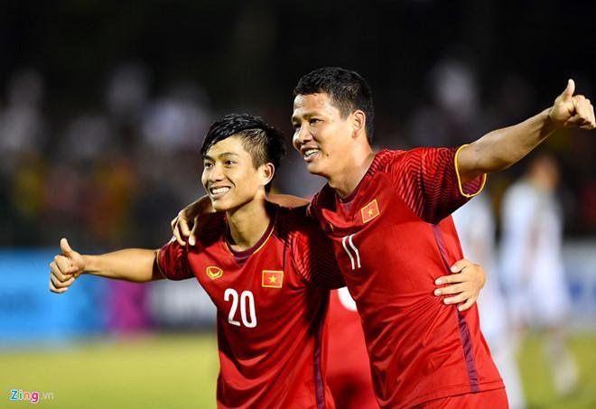 Đội tuyển Việt Nam hé lộ đội hình chính thức, Anh Đức đá chính-2