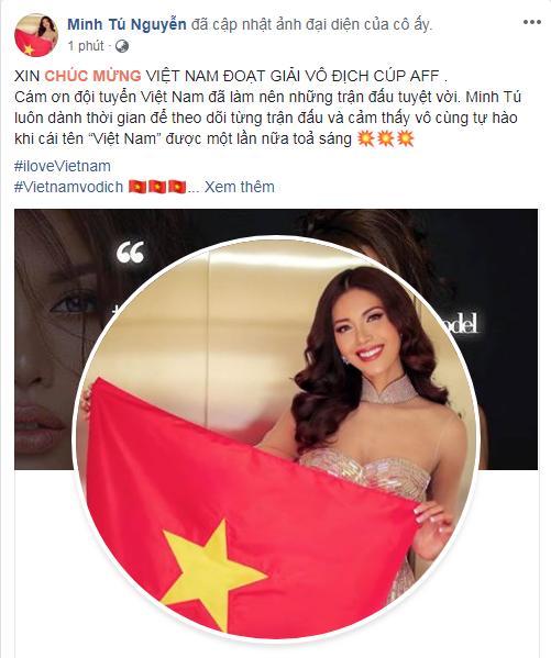 Dàn sao Việt gào nổ mạng xã hội, tưng bừng đi bão ăn mừng tuyển Việt Nam vô địch AFF Cup 2018-9
