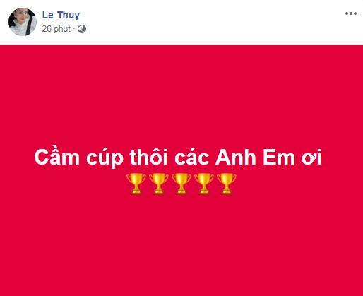 Dàn sao Việt gào nổ mạng xã hội, tưng bừng đi bão ăn mừng tuyển Việt Nam vô địch AFF Cup 2018-13