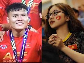 Việt Nam xuất sắc lên ngôi vô địch, bạn gái Quang Hải bày tỏ 'không thể tin nổi' trước sự thật này