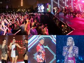 Dàn sao khủng bùng cháy cùng hàng chục ngàn khán giả Đà Nẵng bất chấp trời mưa