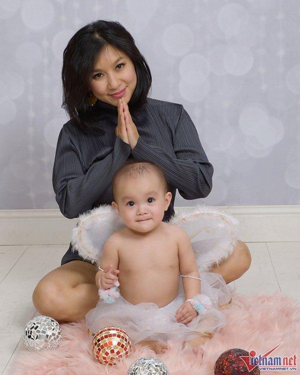 Biểu tượng gợi cảm Y Phụng khoe con gái tròn 1 tuổi ở Mỹ-3