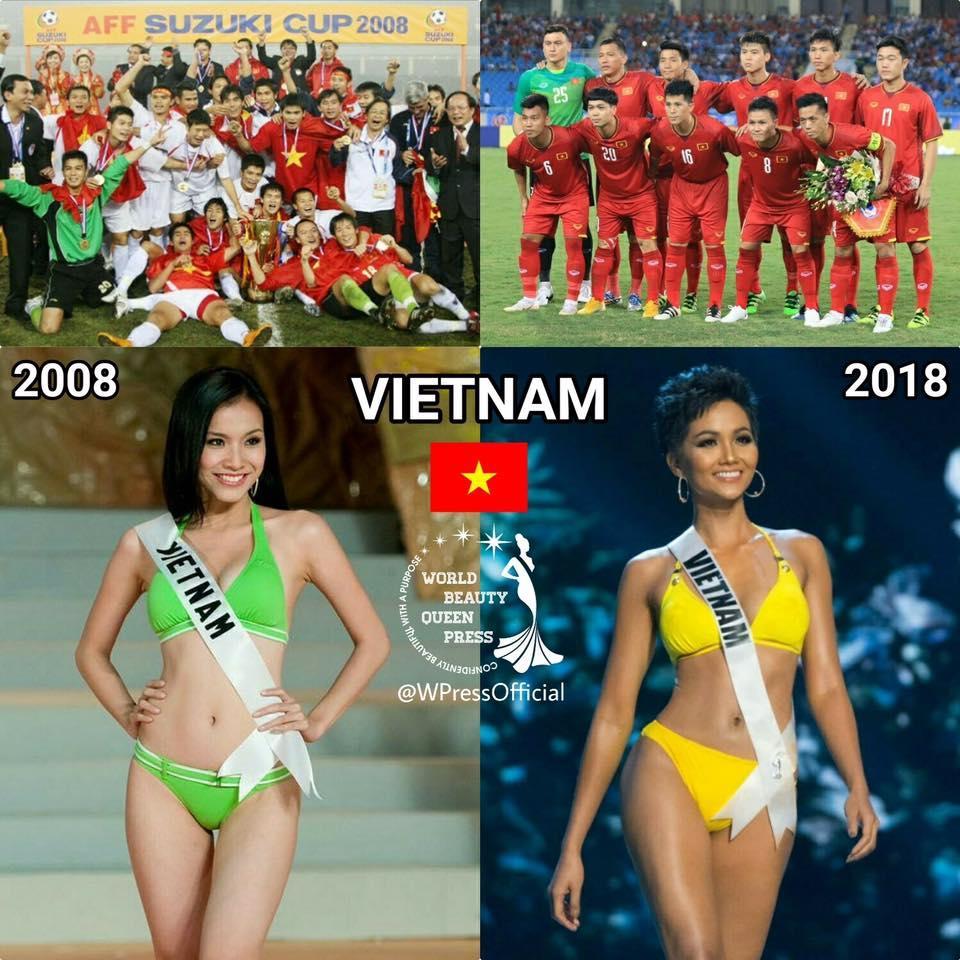 DẤU ẤN THẬP KỶ: Việt Nam đã vô địch AFF Cup, còn gì tuyệt hơn nếu HHen Niê intop Miss Universe sáng mai!-6