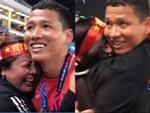 Clip KHÔNG LÊN SÓNG: Anh Đức ngơ ngác tìm mẹ như đứa trẻ lên 3 sau bàn thắng vàng mang vinh quang cho tuyển Việt Nam