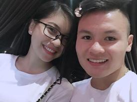 Quang Hải và thời trang đồ đôi giản dị cùng bạn gái hot girl