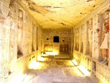 Ngôi mộ cổ 4.400 năm tuổi với những căn hầm bí mật vừa được tìm thấy