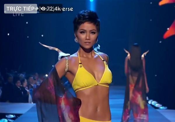 HHen Niê trình diễn bikini cực đỉnh trong top 10 chung cuộc-1