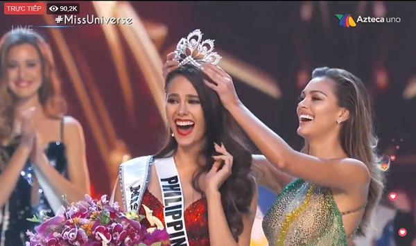 Mỹ nhân Philippines đăng quang Hoa hậu Hoàn vũ 2018-1