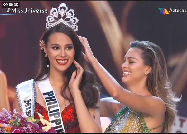 Mỹ nhân Philippines đăng quang Hoa hậu Hoàn vũ 2018-2