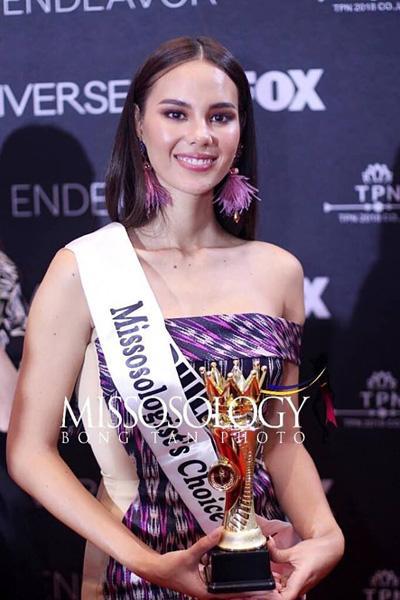 Cận cảnh vẻ đẹp lai tây hút hồn của Catriona Gray - Tân Hoa hậu Hoàn vũ 2018-4