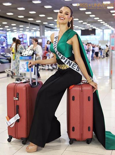 Cận cảnh vẻ đẹp lai tây hút hồn của Catriona Gray - Tân Hoa hậu Hoàn vũ 2018-6