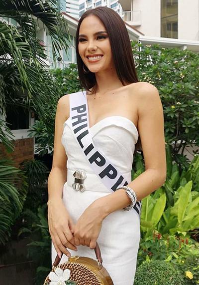 Cận cảnh vẻ đẹp lai tây hút hồn của Catriona Gray - Tân Hoa hậu Hoàn vũ 2018-5