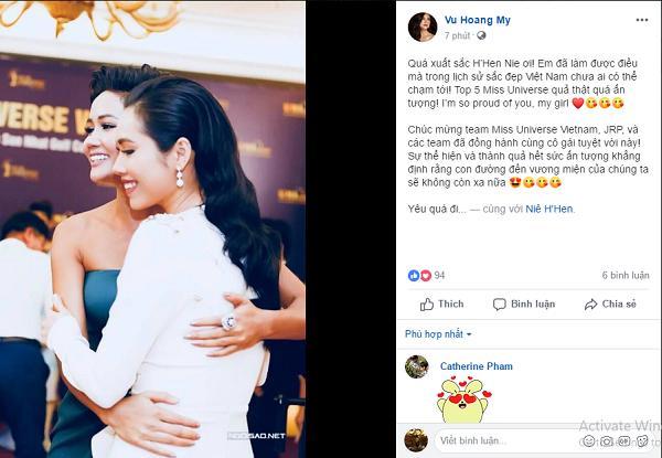 Dàn sao Việt xúc động đến nghẹn ngào khi HHen Niê xác lập kỳ tích tại Miss Universe 2018-4
