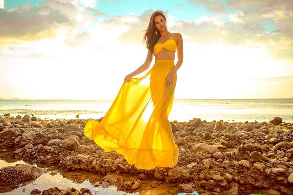 Cận cảnh vẻ đẹp lai tây hút hồn của Catriona Gray - Tân Hoa hậu Hoàn vũ 2018-15