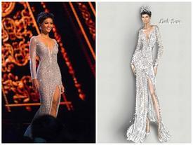 Điều đặc biệt về chiếc váy giúp H'Hen Niê làm nên kỳ tích tại Miss Universe 2018