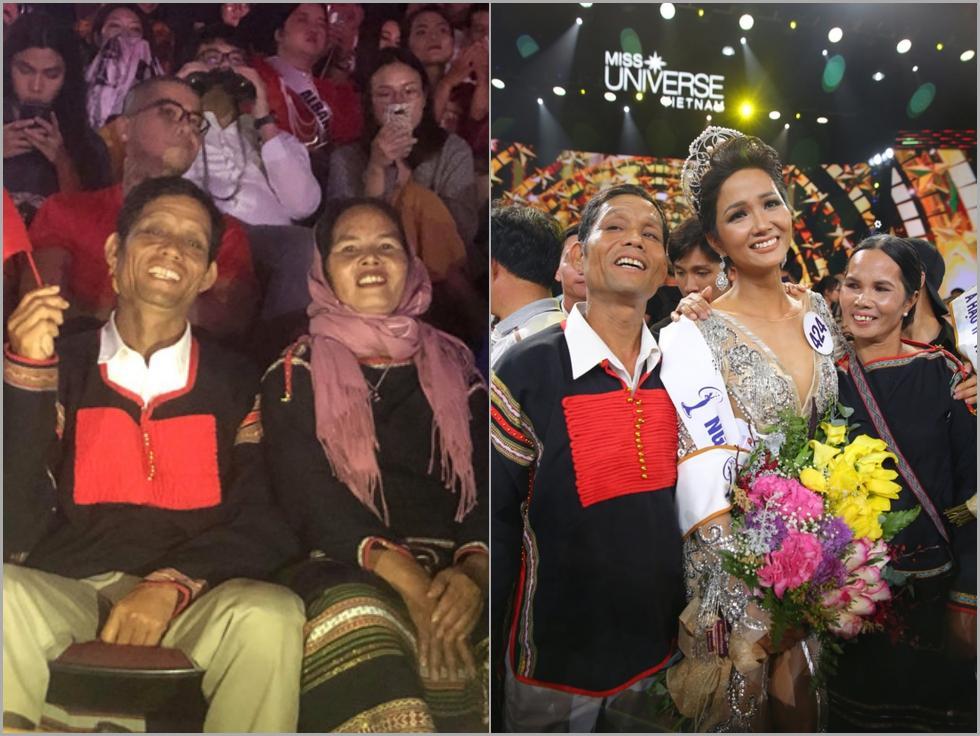Bố mẹ H'Hen Niê có một cách rất tuyệt vời để cổ vũ con gái thi chung kết Miss Universe 2018