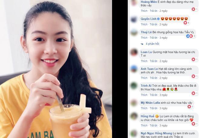 Vợ MC Quyền Linh tiếp tục khoe ảnh cận mặt con gái, dân mạng tấm tắc: Chấm điểm 10 vì góc chụp nào cũng xinh hoàn hảo-5