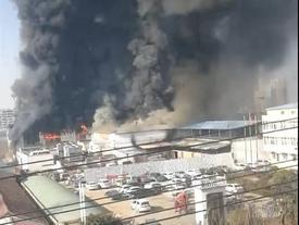 Cháy nhà máy ở Trung Quốc, 11 người bị thiệt mạng