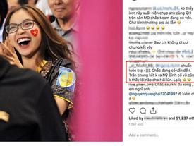 Không gửi lời chúc cũng chẳng ra sân cổ vũ, dân mạng đồn đoán chuyện tình cảm của Quang Hải và bạn gái có vấn đề?