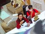 Hết bị nghi check-in ở khách sạn, Văn Đức và top 10 Hoa hậu Việt Nam 2017 lại rủ nhau đi ăn uống-7