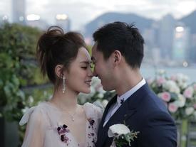 Chung Hân Đồng lên xe hoa với bác sĩ điển trai sau 10 năm dính scandal sex