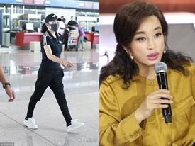 Lưu Hiểu Khánh 63 tuổi vẫn sở hữu body chuẩn, nhưng gương mặt cứng đờ thì không thể che giấu được nữa
