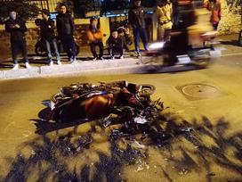 Nữ lái xe Lexus gây tai nạn liên hoàn trên phố Trích Sài có nồng độ cồn cao
