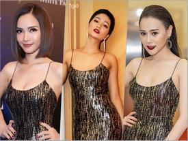 'Hoa hậu bình dân' H'Hen Niê đụng hàng liên tiếp với 'gái ngành Quỳnh búp bê' Phương Oanh và Ái Phương