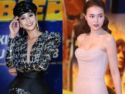 Hoa hậu Tiểu Vy mạnh mẽ cá tính đối lập Ninh Dương Lan Ngọc khoe ngực gợi cảm