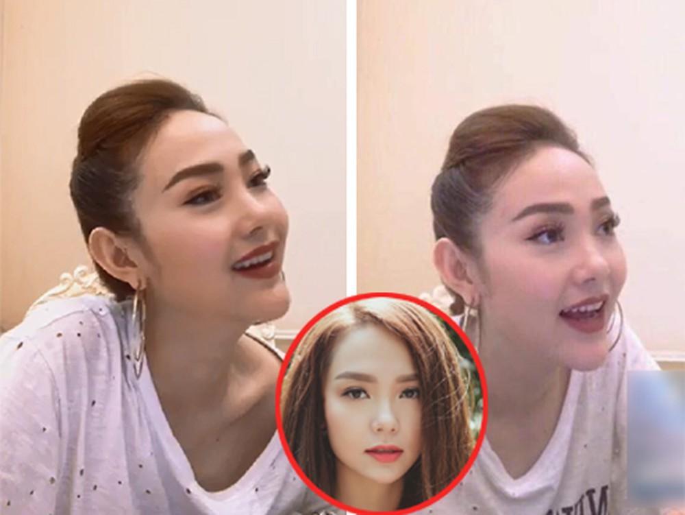 Hòa Minzy lộ gương mặt được ví như bản sao Minh Hằng, khác lạ đến bố mẹ khó nhận ra-4